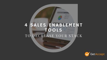 Sales Enablement Tools - Decrease Stack