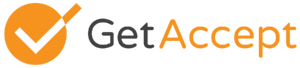 The GetAccept logo