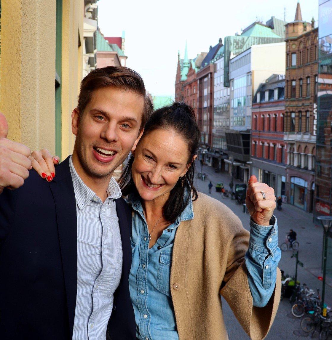 Samir Smajic & Frida Ahrenby GetAccept
